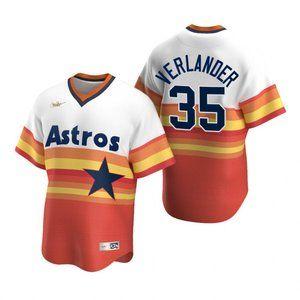 Houston Astros Justin Verlander Home Jersey